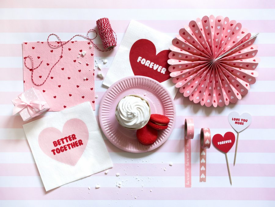 Jakie Dekoracje Na Walentynki
