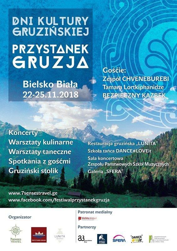 Przystanek Gruzja Festiwal Kultury Gruzinskiej Bielsko Biala