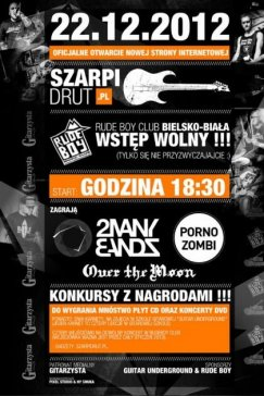 Koncert Porno zombi, 2 Many Bands, Over the moon