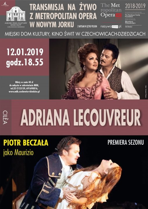 The MET: Adriana Lecouvreur