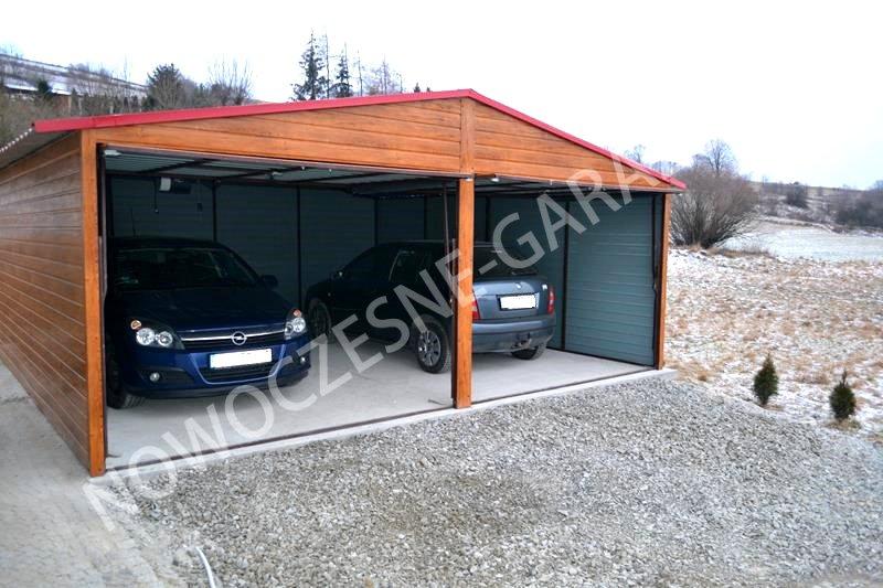 Garaż Blaszany Drewniany Złoty Dąb Konkurencyj Ogłoszenia Bielsko