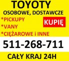 Skup aut TOYOTA Avensis,Corolla,Hiace,Picnic,Dyna,