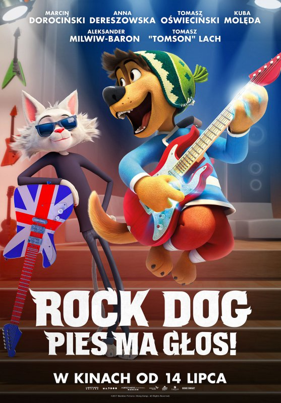 Rock Dog. Pies ma głos