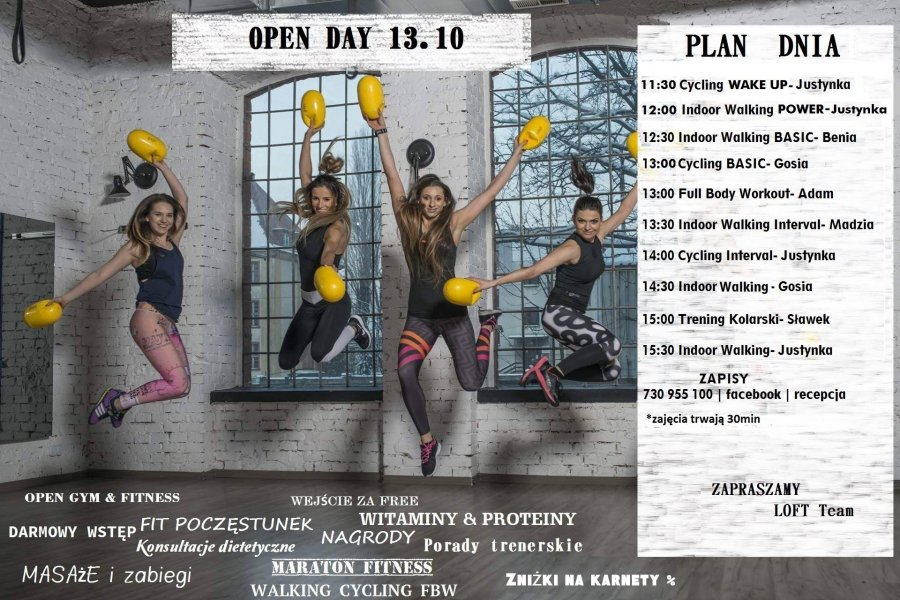Open Day – LOFT Fitness & Gym