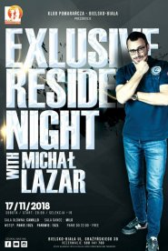 Exlusive Resident Night: Michał Lazar