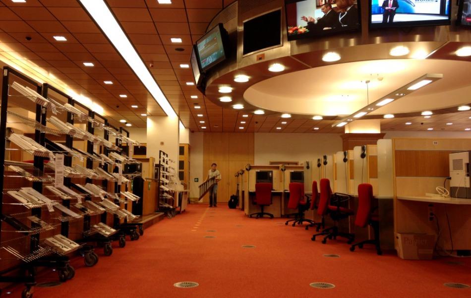 Strefa dla dziennikarzy Galeria Energia na salonach  15 16