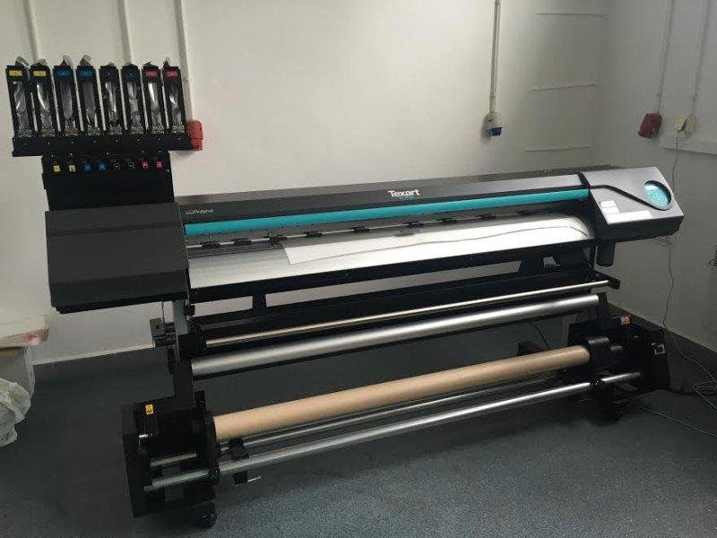 Masywnie DRUKARKA do SUBLIMACJI PLOTER tekstylny Roland Tex - Ogłoszenia RI85