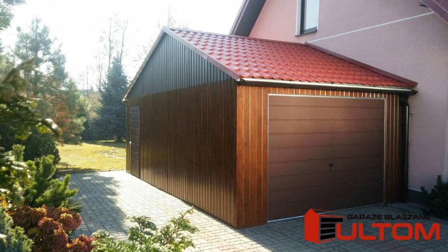Zaawansowane Garaż blaszany drewnopodobny WYSOKA JAKOŚĆ gara - Ogłoszenia HM29